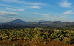Altos desierto y montañas del sur de Oregon Foto de archivo