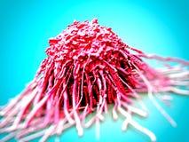 Tumor de la célula de cáncer ilustración del vector