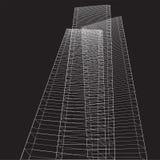 Altos edificios abstractos libre illustration