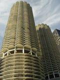 Altos edificios del asunto de la subida Fotos de archivo