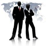 Altos executivos bem sucedidos Fotografia de Stock