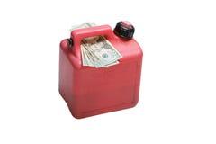 Altos precios de la gasolina Fotografía de archivo
