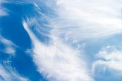 Altostratus-Wolken-Hintergrund Lizenzfreies Stockfoto