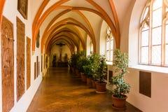 Altotting in Bavaria. Winter in Germany. Church of Altotting in Bavaria. Winter in Germany Stock Images
