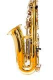 Altowy saksofon (odizolowywający) Zdjęcia Stock