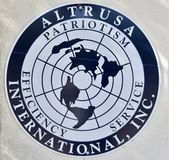 Altrusa International, Inc. Is an international non-profit organization focused on community service. It was founded in Nashville, Tennessee in 1917 by Dr royalty free stock images