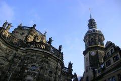 Altstadt στη Δρέσδη Στοκ φωτογραφίες με δικαίωμα ελεύθερης χρήσης