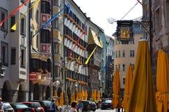 Altstadt, Innsbruck Austria Zdjęcie Stock