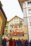 Altstadt Luzern Old town Lucerne Switzerland Stock Photography