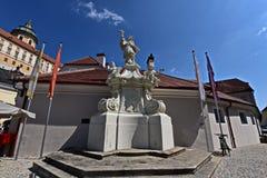Altstadt Melk en Wachau Imágenes de archivo libres de regalías