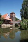 Altstadt Nuremberg Stock Photography