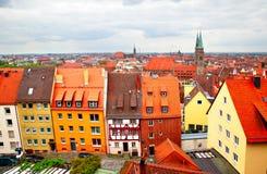 Altstadt in Nuremberg Royalty Free Stock Images