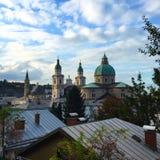 Altstadt Salzburg Lizenzfreies Stockbild