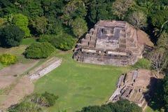Altun brzęczenia, majowie ruiny Fotografia Royalty Free