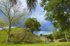 Altun Ha plats i Belize Royaltyfri Fotografi