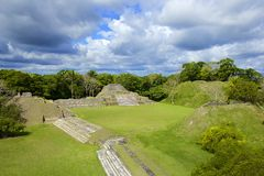 Altun Ha site in Belize Royalty Free Stock Photography