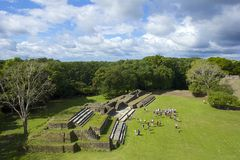Altun Ha site in Belize Stock Photo