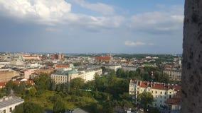 Altura da cidade da vista geral Imagem de Stock Royalty Free