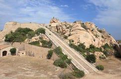 altura monte Di Fortezza Sardinia Zdjęcie Royalty Free