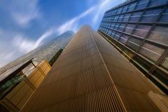 Alturas altas: Líneas convergentes Fotos de archivo