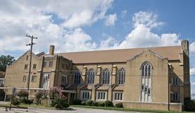 Alturas Baptist Church, TN de la montaña Foto de archivo