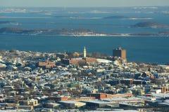 Alturas de Dorchester, Boston, Massachusetts, EUA Fotografia de Stock