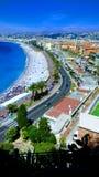 Alturas dos las do desde de Niza fotos de stock royalty free