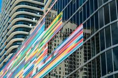 Alturas Miami de Brickell imagens de stock