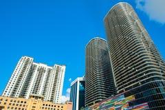 Alturas Miami de Brickell imagem de stock