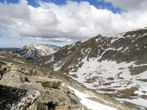 Alturas salvajes del ` s de Wyoming imagen de archivo libre de regalías