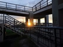 Alturas y puentes Foto de archivo libre de regalías