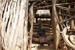 非洲孩子 库存图片