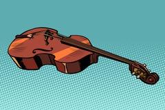 Altviool muzikaal instrument stock illustratie