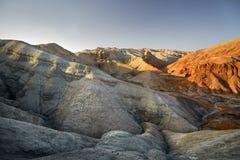 Горы в пустыне стоковые изображения rf