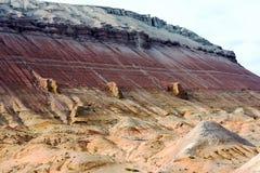 Altyn-Emel nationalpark Arkivbilder