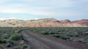 Altyn-Emel nationalpark, kanjon Ak-Tau Royaltyfri Bild
