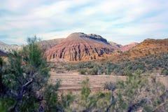 Altyn-Emel nationalpark, kanjon Ak-Tau Royaltyfria Foton