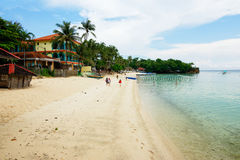 Alubihod Beach, Guimaras Island, Philippines Stock Photography