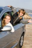 Alugue um carro Fotos de Stock Royalty Free