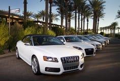 Aluguer, arrendamento, e vendas luxuosos do carro Fotografia de Stock Royalty Free