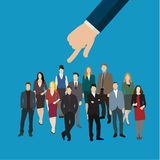 Aluguer ou recrutamento Foto de Stock
