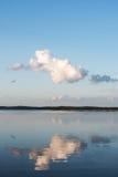 Aluksne lake, Latvia. Stock Image
