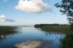 Aluksne lake, Latvia. Stock Photo