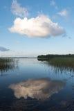 Aluksne lake, Latvia. Royalty Free Stock Images