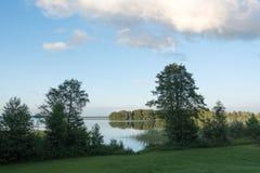 Aluksne lake, Latvia. Royalty Free Stock Photo