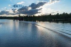 Aluksne lake, Latvia. Stock Photos