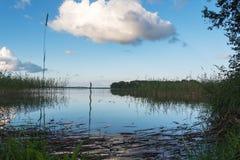 Aluksne lake, Latvia. Royalty Free Stock Image