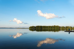Aluksne lake, Latvia. Royalty Free Stock Photography