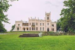 Aluksne, old castle in Latvia. Royalty Free Stock Photos