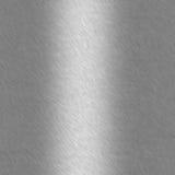 Alumínio escovado com destaque imagens de stock
